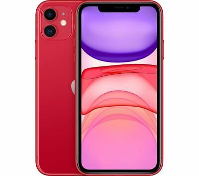 APPLE iPhone 11 - 128 GB, Red - Currys