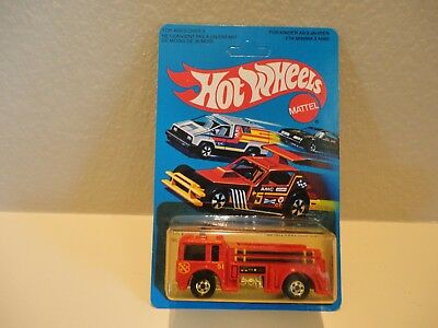 Hot Wheels 1981 Fire Eater Fire Truck