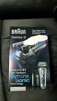 Braun series 9 9095cc Mens Electric Foil Shaver Trimmer Wet&Dry