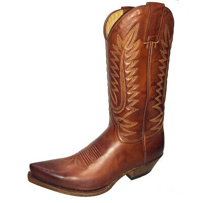 13394 BOTTES FEMME Sendra western country marron série