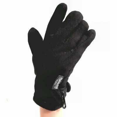 Thinsulate 40g Fleece Gloves - Choose Size - Christmas - Gift - Thermal - Warm