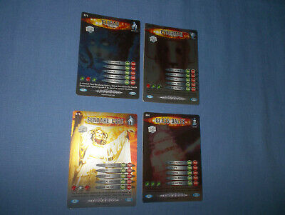 Doctor Who Battles In Time Ultmate Monsters Cards Rare No's. 602/604/611/675