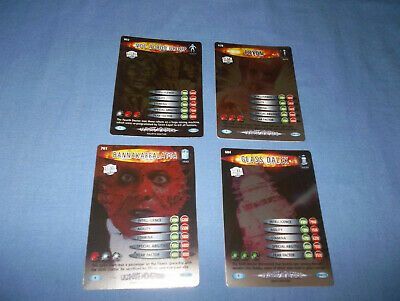 Doctor Who Battles In Time Ultmate Monsters Cards Rare No's. 604/638/761/802