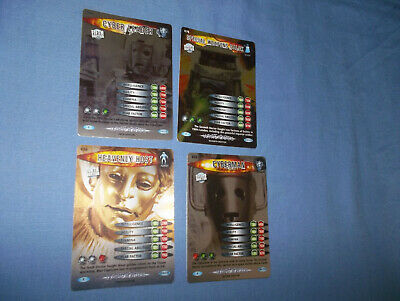 Doctor Who Battles In Time Ultmate Monsterscards  Rare No's. 602/626/676/710