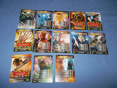 13 Doctor Who Battles In Time Annihilator Cards No's. 200'S