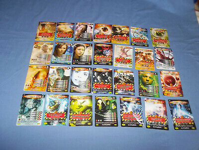 28 Doctor Who Battles In Time Annihilator Cards No's. 300'S