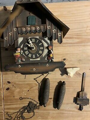 Vintage Herbert Herr Germany Cuckoo Clock Spares Repair