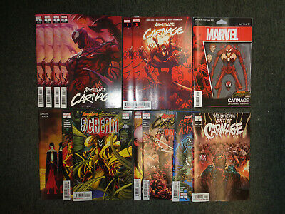 Marvel Absolute Carnage 1st Print Investment Lot 14 Comic Issues