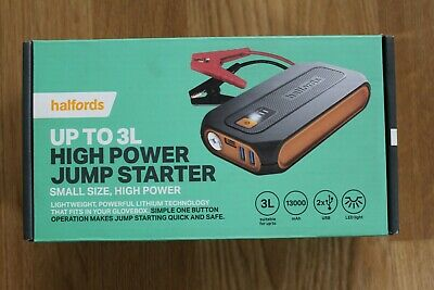 Lithium Jump Starter 3L - used once only