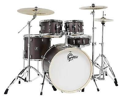 Gretsch Energy 5-Piece Kit with Full Hardware Package & Zildjian Cymbals