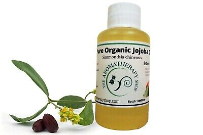 Jojoba Pure Organic Oil 50ml / Cold Pressed