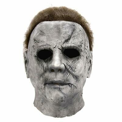 NEW Halloween Michael Myers Mask Movie Horror Cosplay  Latex Full Face Prop
