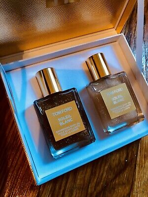 Tom Ford mini soleil blanc shimmering body oil set