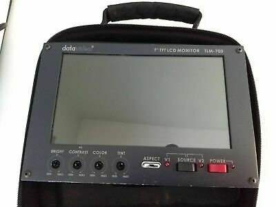 "Datavideo TLM-700 7"" TFT LCD Monitor+Carry Case"