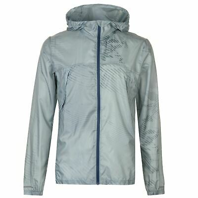 Asics Uomo Packable Giacca Performance Cappotto Top Allenamento