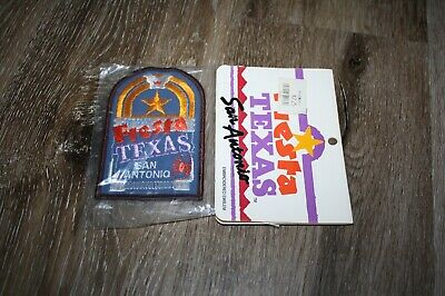 Vintage Fiesta Texas San Antonio Theme Park Patch - New In Package