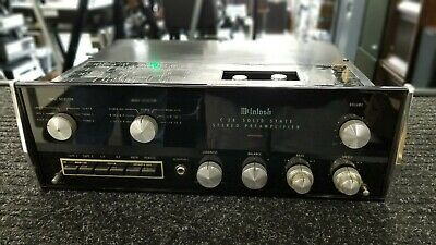 Vintage McIntosh C26 Solid State Stereo Preamplifier