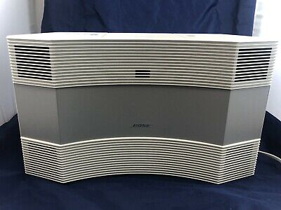 Bose Acoustic Wave Music System Series II AM/FM Radio CD Player White Tested
