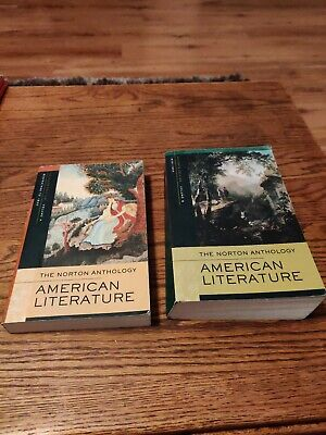 Norton Anthology of American Literature, Volume A and B - 7th Edition GOOD