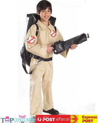 Licensed Ghostbusters Jumpsuit - Boys Child Fancy Dress Halloween Costume