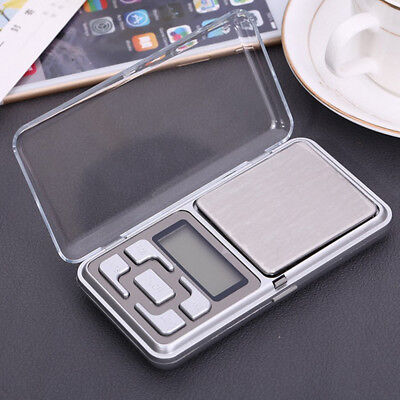 BU_ 0.001g-500g Mini Digital Jewelry Pocket Scale| Gram Precise Weighing Balance