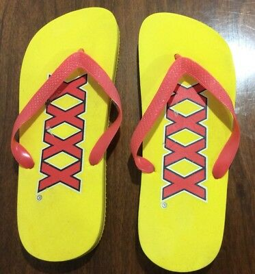 Xxxx Beer Rubber Thongs Size 10-11, Xxxx Beer Rubber Thongs Size 10-11,Xxxx Beer