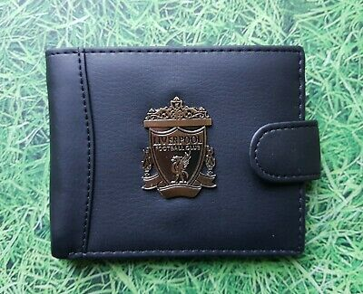 (wal109) Liverpool Football Club black Wallet BNIP