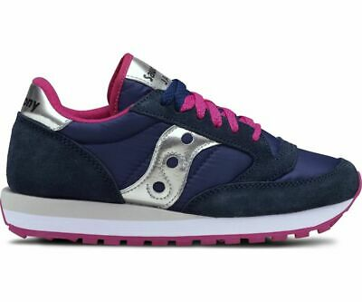 Sneakers Saucony Jazz original donna blue pink silver | IT