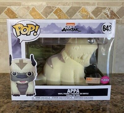Funko Pop! Appa Flocked *Boxlunch Exclusive* Avatar The Last Airbender In Hand