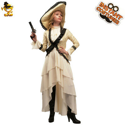 C233BK Leg Avenue  Luxurious Pirate Costume with Brocade and Lace