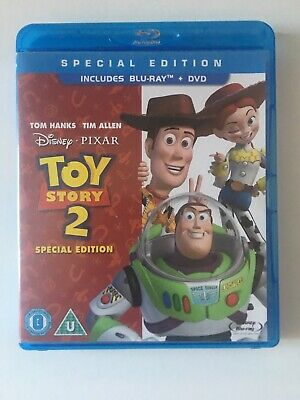 Toy Story 2 (Blu-ray, 2010, 2-Disc Set) and DVD