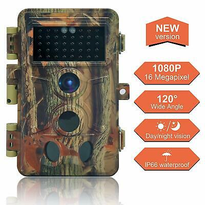 Trail Game Camera Security Infrared Night Vision IR 16MP HD Digital Hunting Cam