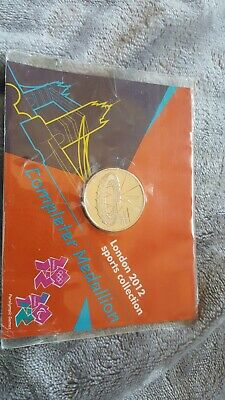 London 2012 Olympics Completer Medallion