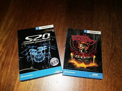 Toontrack Superior Drummer 2.0 Software + The Metal Foundry Expansion SDX