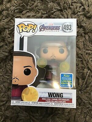 WONG Avengers Endgame Funko Pop Vinyl #493 SUMMER CONVENTION Limited Edition NEW