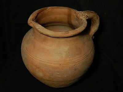Ancient Huge Size Teracotta Jug Bactrian 300 BC #SG2524