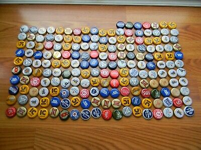 187 Mixed Beer Bottle Caps Great Colors No Dents Awesome Mix Clean No Gunk