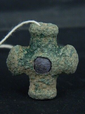 Ancient Bronze Bead/Pendant Bactrian 300 BC No Reserve  #BR6655