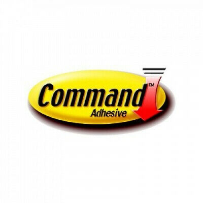 (6 Large Strips, White) - Command 17023P Large Mounting Strips Multi-Coloured