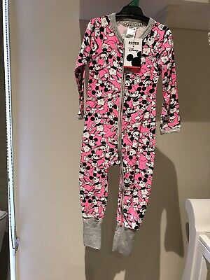 "Bonds Disney Zippy Wondersuit Bnwt - ""Mickey Mania "" -Size 2"