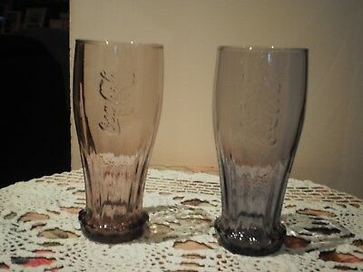 Coca Cola  Promotional Glasses - Set Of 2