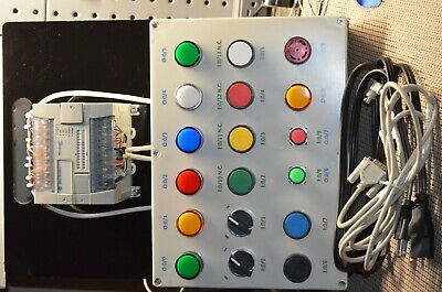 PLC Trainer Allen Bradley MicroLogix 1200, with programming cable