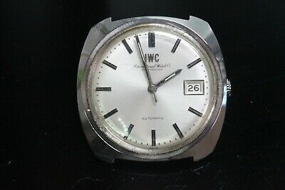 IWC International Watch Co Schaffhausen Cal.8541B Automatic Date Working