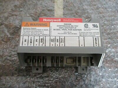 Honeywell Ignition Control Board S8600M1005 HQ1011449HW FREE SHIPPING