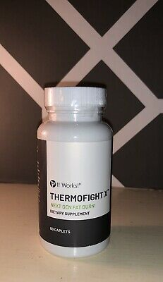 iT Works! Thermofight X Dietary Supplement 60 Caplets, New & Sealed!