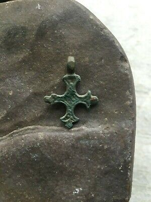 Ancient cross pendant 11th-12th century  100% original