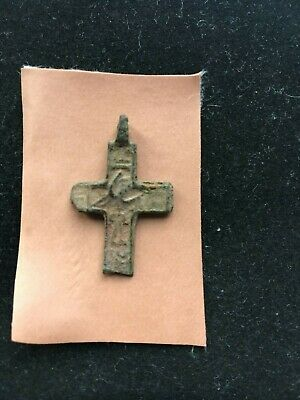 Exorcism cross  Ancient cross pendant 14th-15th century  100% original