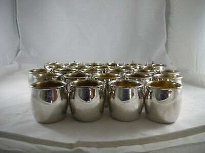 Lot of 26 Vintage FB Rogers Silver Plate Punch Cups