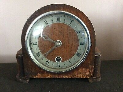 Vintage Davall rare small mantle clock 8 Day movement