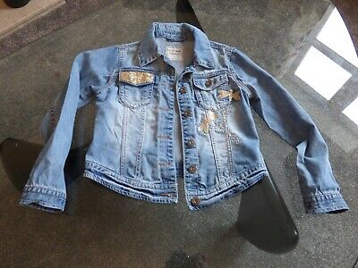 Girl's Next Denim Jacket - Age 9-10 - Great condition